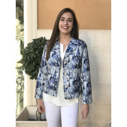 Americana Estampada Blue