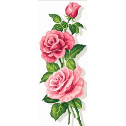 Cañamazo Las Rosas