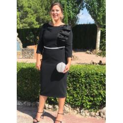 Vestido Carla Ruiz Mara Negro