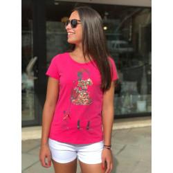 Camiseta Olivia Pink