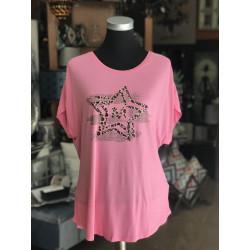Camiseta Star Rosa