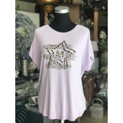 Camiseta Star Lila