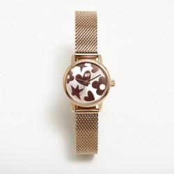 Reloj Mini Maya Oro Rosa