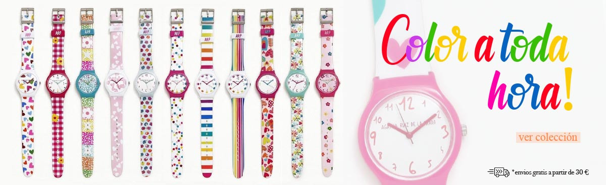 relojes en regalos moda y decoración helena